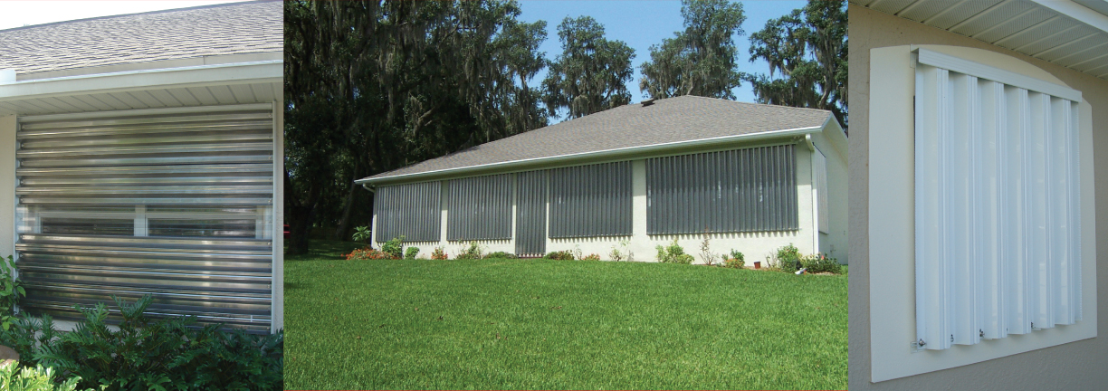 Removable Style Storm Shutters
